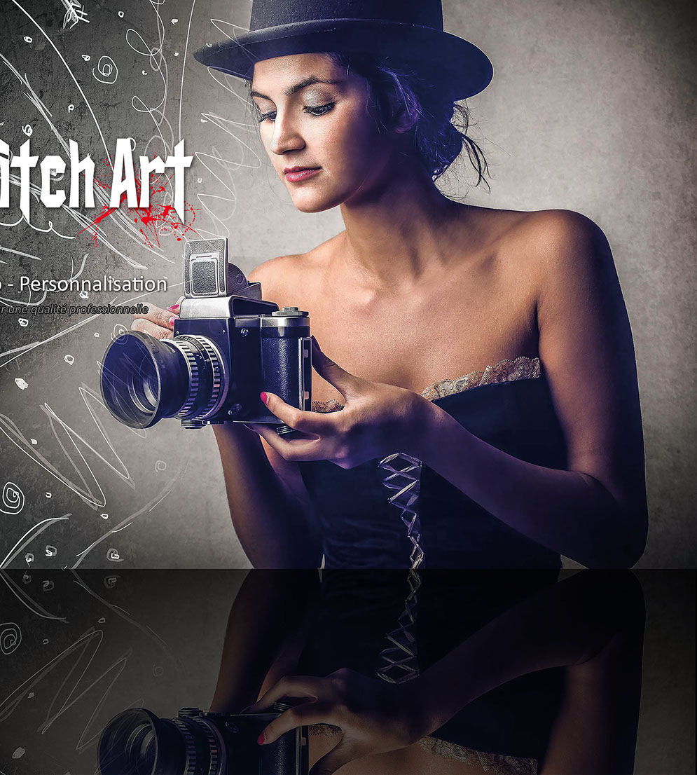 Studio Pitch Art - Impression - photo - personnalisation